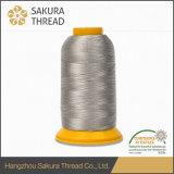 Cuerda de rosca respetuosa del medio ambiente del bordado del rayón 120d/2 de Oeko-Tex con de alta resistencia