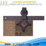 Hardware del portello scorrevole di Frameless per il portello di legno (LS-SDU-8009)