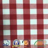 Polybaumwollgarn-gefärbtes Einstecken und Zeichnen des Gewebes für Kleider