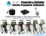 propulsión externa eléctrica externa eléctrica del motor eléctrico del barco 30HP para el infante de marina