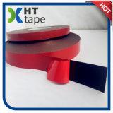 0.25mmの赤はさみ金の黒のArylicの泡の倍はテープ味方した