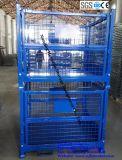 Gaiola de malha de fio de metal pesado para armazenamento de armazém