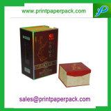 Bestellte kosmetische Verpackungs-Papierkasten-Schmucksache-Kasten-Luxuxuhr-verpackenkasten voraus