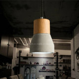 Indicatore luminoso concreto alla moda reso personale del pendente di Droplight del soffitto del ristorante