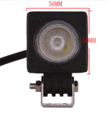 道10Wのクリー族チップ作業ライト12V LEDトラクターのオートバイ作業ライトを離れたLEDのドライビング・ライト10W LED作業ランプ