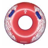 Rojo tubo inflable del agua del PVC de 36 pulgadas de diámetro para el parque del agua
