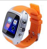 Reloj elegante impermeable 4G de la cámara IP68 de SIM WiFi con el GPS