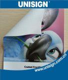Impresión de encargo de Digitaces de la promoción que hace publicidad de banderas de la flexión del vinilo del PVC