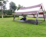A permeabilidade de acampamento ao ar livre do ar espaçoso Waterproof a barraca de acampamento dos povos 5-6