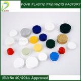 Produits de beauté empaquetant le chapeau en plastique expérimenté de dessus de disque