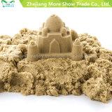 Brinquedos educacionais das crianças da areia mágica interna surpreendente dinâmica cinética do jogo da areia da argila