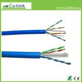 Câble LAN Coaxial de fil de réseau de la qualité CAT6 UTP 4pairs