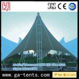 Stahlbinder-Rahmen mit PTFE Deckel-dehnbarer Zelt-Permanenten-Zelle
