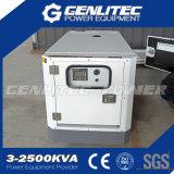 Générateur électrique diesel silencieux refroidi à l'eau triphasé de 37.5kVA Xichai