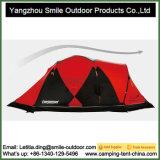 Tente rigide en aluminium à deux niveaux campante d'extrémité de temps froid