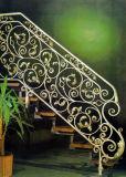 Haohan modificó la barandilla de acero galvanizada australiana europea elegante 9 de la escalera para requisitos particulares