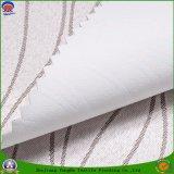 Tela tejida ignífuga impermeable revestida de la cortina del poliester de la materia textil casera