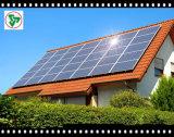 Glace Tempered de fer inférieur de panneau solaire avec du ce