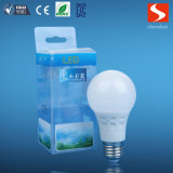 Bulbo de la fábrica E27 A60 6000k 6W LED de China