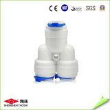 Connecteur rapide de filtre d'eau de 1/4 pouce de l'articulation du coude K4044