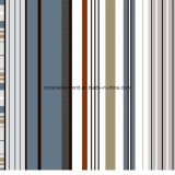 100%Polyester 선 녹색 격자 Pigment&Disperse는 침구 세트를 위한 직물을 인쇄했다