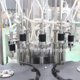 Автоматическая линия стекла пива Carbonated мягкая заполняя