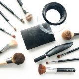Fondamento cosmetico di trucco della maniglia acrilica dei capelli di alta qualità