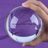 bola de cristal cristalina grande de 100m m para la decoración