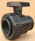 Шариковый клапан соединения PVC одиночный (гнездо гнезда x)