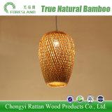 Bambu que tece a iluminação decorativa da lâmpada Handmade do teto da luz do pendente