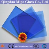 vidrio reflexivo en línea 8m m azul marino de 4m m 5m m 5.5m m 6m m