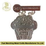 Pin stampato su ordinazione del risvolto dell'acciaio inossidabile, fornitore professionale del distintivo in Cina
