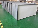 Фильтр высокой эффективности миниый плиссированный HEPA, воздушный фильтр стеклоткани для 0.3microns