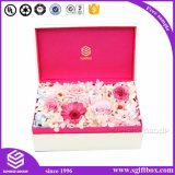 カスタマイズされた贅沢なペーパーギフトの包装の花ボックス