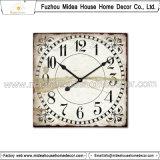 정연한 모양 Retro 나무로 되는 시계