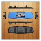 5.0 carro cheio Dvrs do espelho de Rearview da câmera da polegada HD 1080P auto com lente dupla