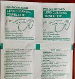 Trapos de la limpieza de la lente