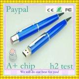Qualitäts-Feder-Form USB-Blitz-Laufwerk (GC-P017)