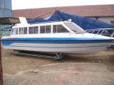 barco de pasajero de la fibra de vidrio 15-20seats con el motor externo