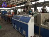 machine en plastique de panneau de mur de PVC de 300 400 600mm, extrudeuse de panneau de mur de PVC