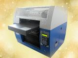 Impresora plana ULTRAVIOLETA de múltiples funciones A3 de la alta calidad para la camiseta, el CD, la tarjeta, la pluma, la pelota de golf, la caja del teléfono, el USB, el vidrio, los plásticos, el acrílico, el PVC, el cuero, el mármol, el etc.