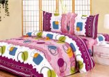 3PCS 100%年のPolyester Bedding Set