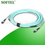 12 Faser-Steckschnür des Faser-einzelner Modus-Duplex-MTP MPO