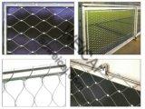 等級316のステンレス鋼ケーブルのネット、網、ステンレス鋼ロープの網、Xは網をがちである