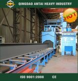 Tiro Blasting Machine com Roller Conveyor