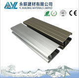 Il Marca 6063 anodização janela deslizante perfil de alumínio