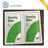 Con mejor puntuación personalizada de microfibra paño de limpieza para lentes de Wipe