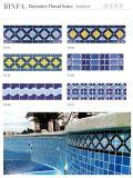 Piscina del bordo del mosaico