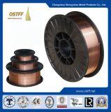 中国の製造のセリウム、dBのABS証明書が付いているガスによって保護される溶接ワイヤ