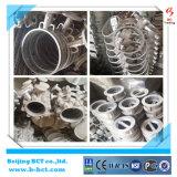 Válvula de borboleta padrão de alumínio do corpo JIS10k da liga com sem-fim da engrenagem